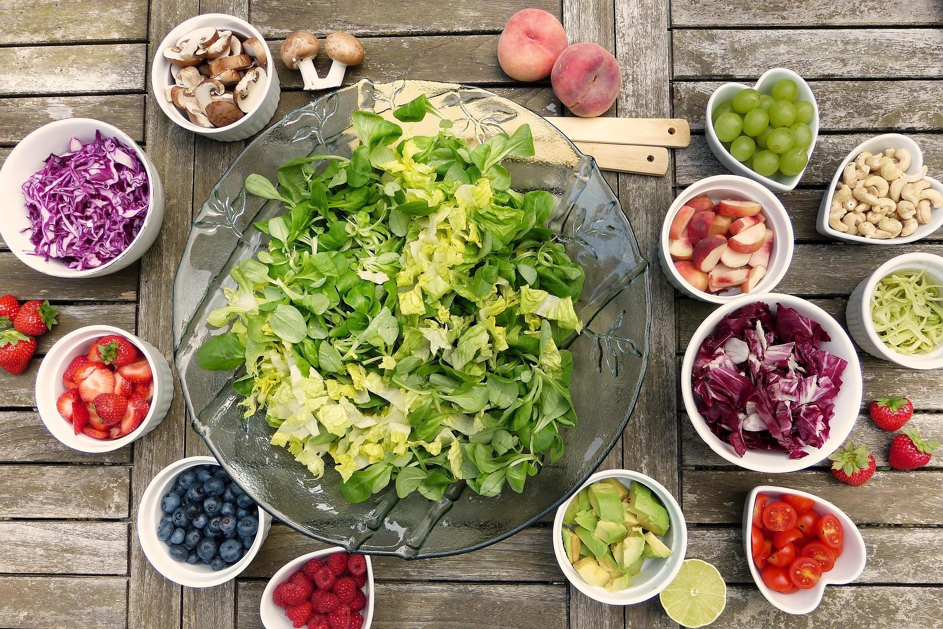 Regionales und saisonales Obst und Gemüse